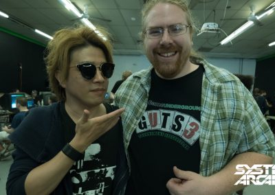 REMO-CON with Jamie, owner of Game Underground, at the 灼熱Summer Night 4 Autograph Signing